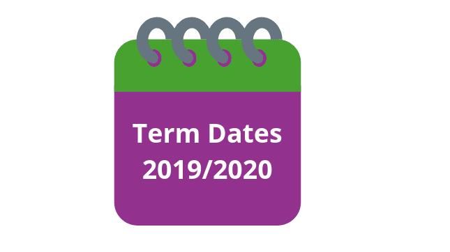 Revised 2019-2020 Term Dates