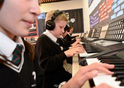 Horsforth School music room