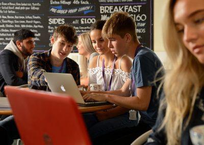 Horsforth School canteen