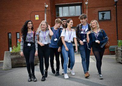 Horsforth School happy pupils
