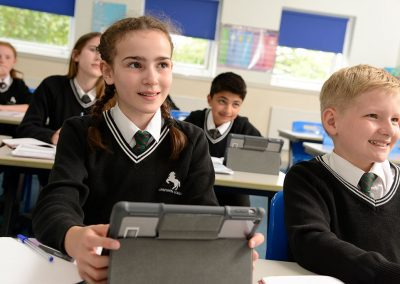 Horsforth School tablets in lessons