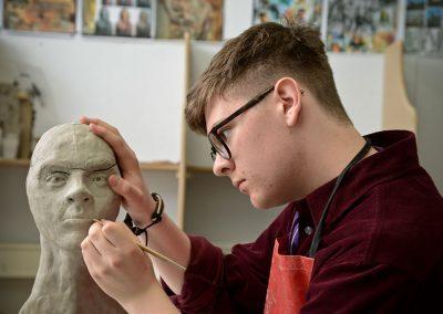 Horsforth School art sculpture