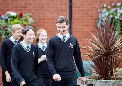 Horsforth School Happy Students
