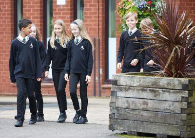 Horsforth School Pupils
