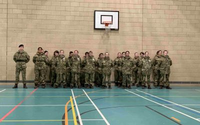 Combined Cadet Force Beret Ceremony